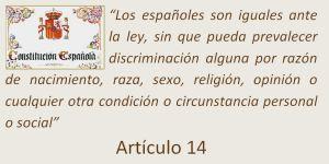 Igualdad - Constitución